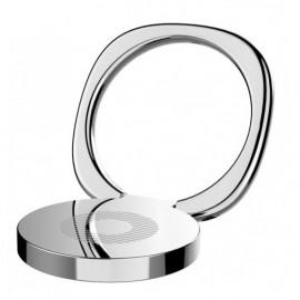 BASEUS finger ring holder Symbol SUMQ-0S, ασημί