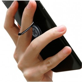 BASEUS finger ring holder Symbol SUPMD-01, μαύρο