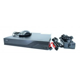 TVT Υβριδικό καταγραφικό TD-2104TS-HC, H265+ Full HD, 2x IP, 4 Κανάλια