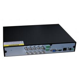 TVT Υβριδικό δικτυακό καταγραφικό TD-2704TS-C, DVR, 4 Κανάλια