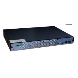 TVT Υβριδικό δικτυακό καταγραφικό TD-2716TE-C, DVR, 16 Κανάλια