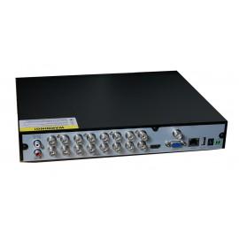 TVT Υβριδικό δικτυακό καταγραφικό TD-2716TS-CL, DVR, 16 Κανάλια