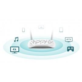 TP-LINK Wireless N VDSL/ADSL Modem Router TD-W9960, 300Mbps, Ver. 1.0