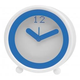 TOYA GIFTS Κλασσικό ρολόι με ξυπνητήρι, λευκό