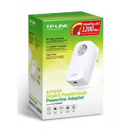 TP-LINK AV1200 Gigabit Powerline Adapter, 2x2 MIMO