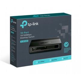 TP-LINK Desktop Switch TL-SF10016D, 10/100Mbps, 16 Θύρες, Ver. 6.0