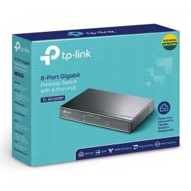TP-LINK 8-Port Gigabit Desktop Switch TL-SG1008P, 4-Port PoE, Ver. 3.0