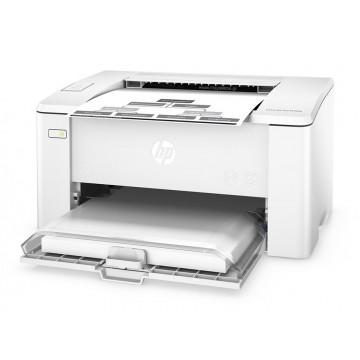 HP used εκτυπωτής LaserJet Pro M102A, Laser, Monochrome, με toner