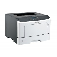 LEXMARK used Printer MS410DN, Laser, Mono, με toner & drum