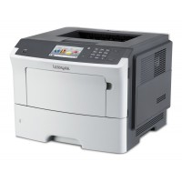 LEXMARK used Printer MS610DE, laser, monochrome, με toner & drum
