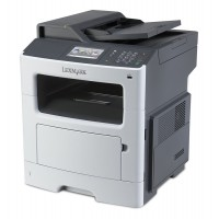LEXMARK used MFP Printer MX410DE, Laser, Mono, με toner & drum