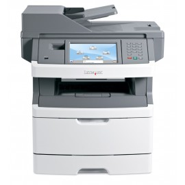 LEXMARK used MFP Printer X464DE, Laser, Mono, με toner & drum
