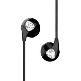 UIISII Ακουστικά Handsfree U1, Heavy Bass, μαύρο