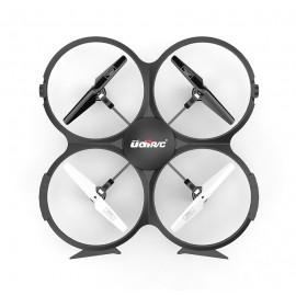 UDIRC Drone U818A HD, HD Camera 30fps, LCD controller, 6-Axis, μαύρο