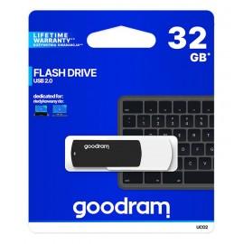 GOODRAM USB Flash Drive UCO2 0320KWR11, 32GB, USB 2.0, μαύρο