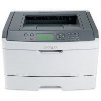 LEXMARK used Printer E460DN Workgroup, Mono, Laser, low toner/drum