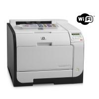 HP used Printer LaserJet M451nw, WiFi, Laser, Color, no toner