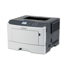 LEXMARK used Printer MS415dn, laser, monochrome, low toner