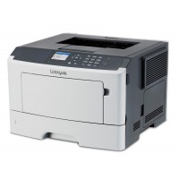 LEXMARK used Printer MS510DN, laser, monochrome, low toner
