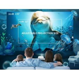 VANKYO LED βιντεοπροβολέας Leisure3, 1080p, VGA/HDMI/USB, λευκός