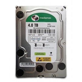 """MEDIAMAX Σκληρός Δίσκος 3.5"""", 4TB, 64MB, 5400RPM, SATA II, New"""