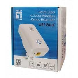 LEVELONE Wireless Range Extender AC1200 WRE-8011E, dual band, Ver. 1.0