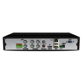 LONGSE XVR ΑΙ Υβριδικό καταγραφικό, H265+HD, DVR, 4+2 IP, 4-16 κανάλια