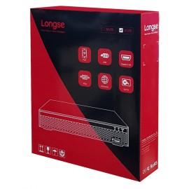LONGSE XVR ΑΙ Υβριδικό καταγραφικό, H265+HD, DVR, 8+4 IP, 4-16 κανάλια