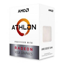 AMD CPU Athlon 200GE, 2 Cores, AM4, 1MB, Radeon RX Vega Graphics
