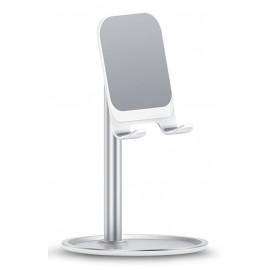 USAMS βάση smartphone US-ZJ048, ρυθμιζόμενη, μεταλλική, λευκή