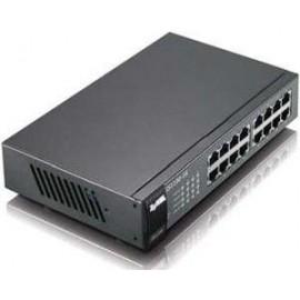 ZYXEL SWITCH GS1100-16, 16 PORTS 10/100/1000Mbps, ENTERPRISE LAN SWITCH, RACKMOUNT, 2YW.