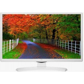 "LG MONITOR TV 24TK410V-WZ, LCD TFT LED, WIDE VIEWING ANGLE PANEL 23.6"", 16:9, 250 CD/M2, 5.000.000:1, 5MS, 1366x768, HDMI/USB/CI/DVB-T2/C/S2, 2X5WATT, WHITE, 2YW."
