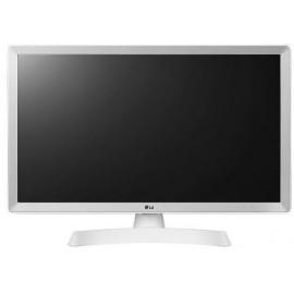 "LG MONITOR TV 28TL510S-WZ SMART, LCD TFT LED, WIDE VIEWING ANGLE, 27.5"", 16:9, 250 CD/M2, 5.000.000:1, 8MS, 1366x768,  2xHDMI v1.4/CI/USB/DVB-T/C/S2, 2X5WATT, WHITE, 2YW & 0 PIXEL."