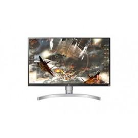 """LG MONITOR 27UL650-W,  UHD 4K, 27"""", 16:9, 350 CD/M2, 1000:1, 5MS, 3840x2160, 2xHDMI/1xDISPLAY PORT/HP OUT, 3YW & 0 PIXEL."""