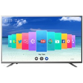 "SKYWORTH TV 43"" UHD 4K SMART 43E5600, LCD TFT IPS LED, 43"", 16:9, 280CD/M2, 3840x2160, DVB-T/T2/C/S/S2/MPEG4, CI+, AV IN, LNB, 3xHDMI (1 MHL), SCART, S/PDIF, 3xUSB, VGA, HEADPHONE, CI+ SLOT, WiFi, LAN (RJ45), 2x8W, GREY-SILVER, 2YW."