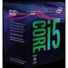 INTEL CPU CORE i5 8400, 6C/6T, 2.80GHz, CACHE 9MB, SOCKET LGA1151 8th GEN, GPU, BOX, 3YW.