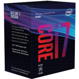 INTEL CPU CORE i7 8700 BOX, 6C/12T, 3.20GHz, CACHE 12MB, SOCKET LGA1151 8th GEN, GPU, 3YW.