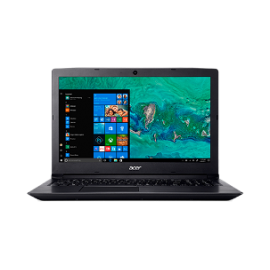 "ACER NB ASPIRE A315-41 R7CQ, 15.6"" TFT HD, AMD CPU RYZEN 3 2200U, 4GB RAM, 1TB HDD, ΕΝΣΩΜΑΤΩΜΕΝΗ AMD VGA RADEON VEGA 3, LINUX, OBSIDIAN BLACK, 2YW for Consumers/ 1YW for professionals."