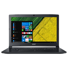 "ACER NB ASPIRE A517-51G-30KG, 17.3"" TFT FHD IPS, INTEL CPU 8th GEN i3 8130U, 4GB RAM, 256GB SSD, NVIDIA VGA GF MX130 2GB GDDR5, DVD R/RW, LINUX, BLACK, 2YW for Consumers/ 1YW for professionals."