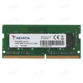 ADATA RAM SODIMM 4GB AD4S2666J4G19-S, DDR4, 2666MHz, 512x16, CL19, SINGLE TRAY, LTW