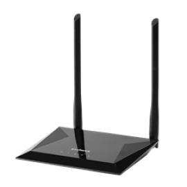 EDIMAX ROUTER BR-6428NS V5, N300 2T2R WIRELESS 11N ROUTER WITH 4 PORTS SWITCH, ACCESS POINT, RANGE EXTENDER, BRIDGE, WISP, W FIXED ANTENNA (5DBI), 2YW