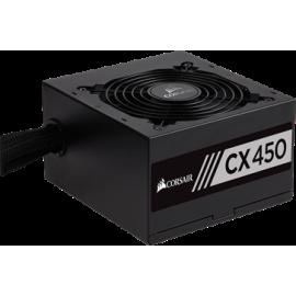 CORSAIR PSU 450W CMPSU-CX450EU CP-9020120-EU, BUILDER SERIES CX, BRONZE CERTIFIED, 12CM QUIET & COOL FAN, 5YW.