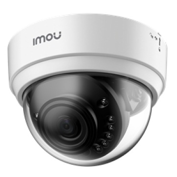 "IMOU IP CAMERA DOME LITE 4MP, IPC-D42, INDOOR, 1/3"" 4M CMOS, ICR, H.265/H.264, QHD 4MP (20FPS), 16X DIGITAL ZOOM, 2.8MM LENS, IR 20M, DC12V, 2,4GHZ WI-FI & ETHERNET PORT, MICRO SD, 2YW"
