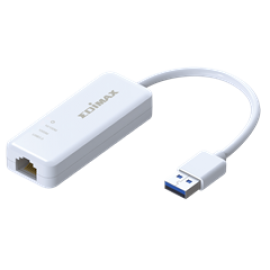 EDIMAX LAN ADAPTER EU-4306, USB 3.0 10/100/1000MBPS GIGABIT ETHERNET ADAPTER , 2YW.