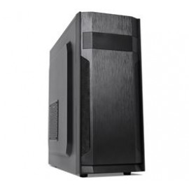 SUPERCASE PC CHASSIS F55, MIDI TOWER ATX, BLACK, W/O PSU, 2YW.