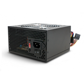 SUPERCASE PSU 650W, SERIES FORCE, 12CM FAN, BULK, 2YW.