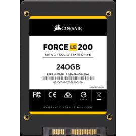 "CORSAIR SSD 2.5"" 240GB CSSD-F240GBLE200, TLC, SATA3, READ 560MB/s, WRITE 530MB/s, 3YW."