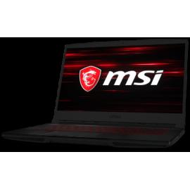 """MSI NB GF63 8RC-057NL, 15.6"""" TFT FHD, INTEL CPU 8th GEN i7 8750H, 8GB RAM, 1TB HDD, 128GB M.2 SATA 3 SSD, NVIDIA VGA GTX1050 4GB GDDR5, WIN10, BLACK, 2YW."""