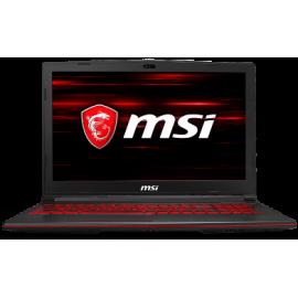 """MSI NB GL73 8RD-010NL, 17.3"""" TFT FHD, INTEL CPU 8th GEN i7 8750H, 8GB RAM, 1TB HDD, 128GB M.2 SATA 3 SSD, NVIDIA VGA GTX1050 Ti 4GB GDDR5, WIN10, BLACK, 2YW."""