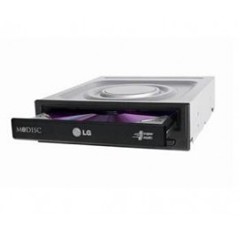 LG DVD R/RW GH24NSD1, INTERNAL, SATA, 24x, DL, BLACK, BULK, 2YW.